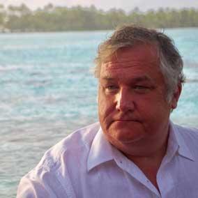 Travel blogger and radio host Michael Patrick Shiels